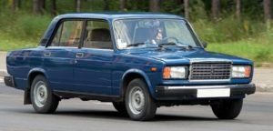 kamery do auta v Rusku - Žigulík