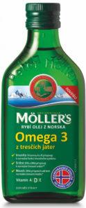 rybí olej Omega 3 z tresčích jater