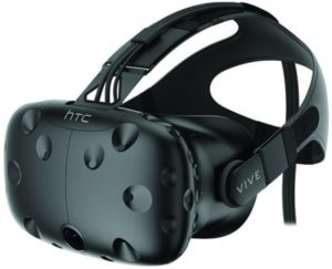HTC VIVE vr bryle