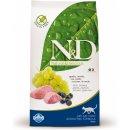 Krmivo pro kočky N&D GF Cat Adult Lamb & Blueberry 5 kg