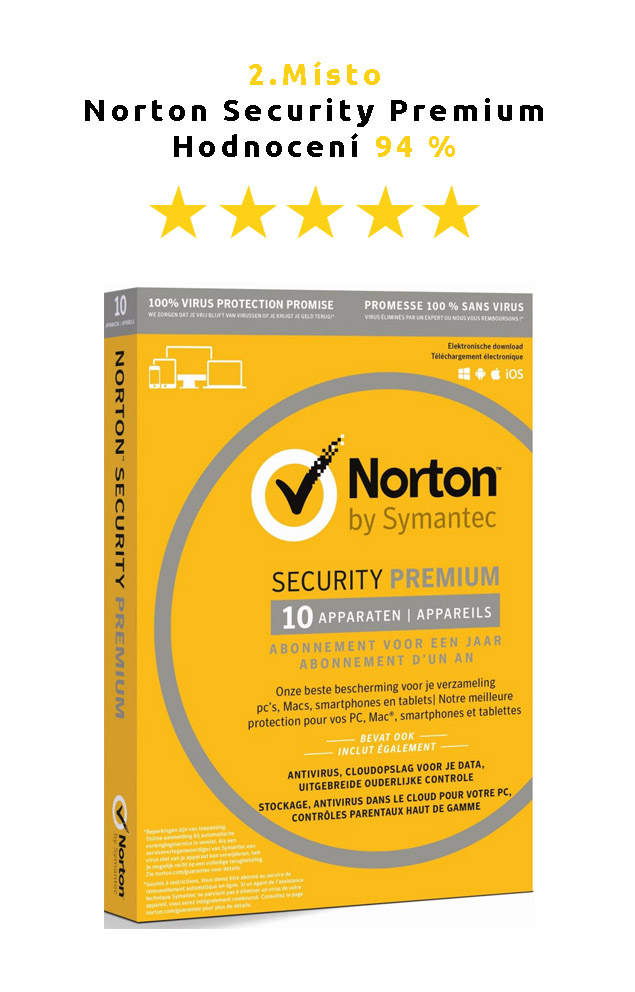 antivirus Norton Security Premium