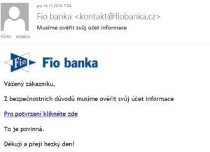 phishing fio banka