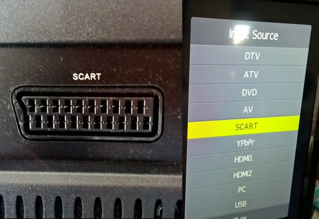 set top box scart